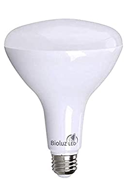 BR40 LED Bulb Dimmable LED Floodlight Warm White 2700K or Soft White 3000K Bioluz LED