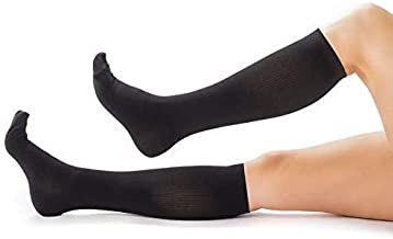 Compression Socks for Women & Men, Soft & Comfortable Knee High Compression Stockings Help Relieve Calf, Leg & Foot Pain - Socks for Nurses, Flight Travel, Maternity, Running, and Everyday Wear - M