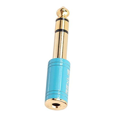 D DOLITY Conector Audio Cable Enchufe Hembras Extensión 6.