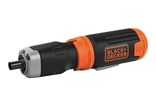 BLACK+DECKER Cordless Screwdriver, Alkaline (BCF601AA)