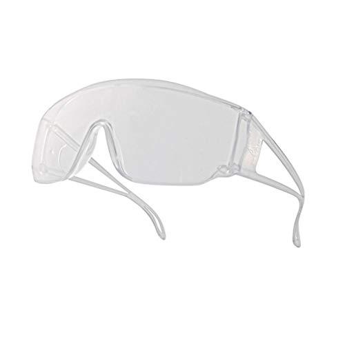Venitex Piton2–Occhiali monoblocco in policarbonato incolore fuori UV400