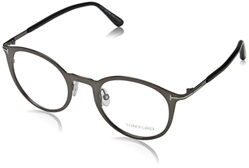 Tom Ford FT5465 47008 Tom Ford bril FT5465 008 47 rond brilmontuur 47, gunmetal