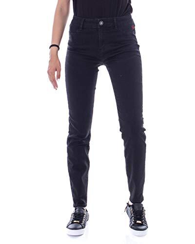Desigual Jeans Donna Denim Basic 2nd Skin 19wwdd09 w34 Nero