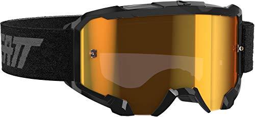 Leatt Crossbrille Velocity 4.5 IRIZ Schwarz
