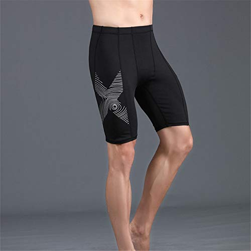 31X4PhlXGeL. SS500  - Yhjkvl Men's Compression Base Layers Shorts Men's Sports Compression Shorts Fitness Sports Tight Quick-drying Shorts…
