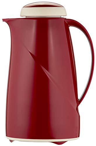 Helios Wave Kunststoff-Isolierkanne, rot, 1 Liter