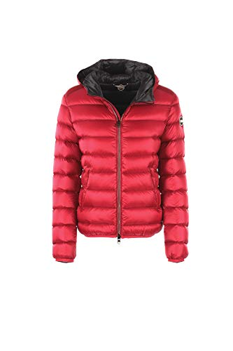 COLMAR Damen Daunenjacke Place mit Kapuze Label-Applikation