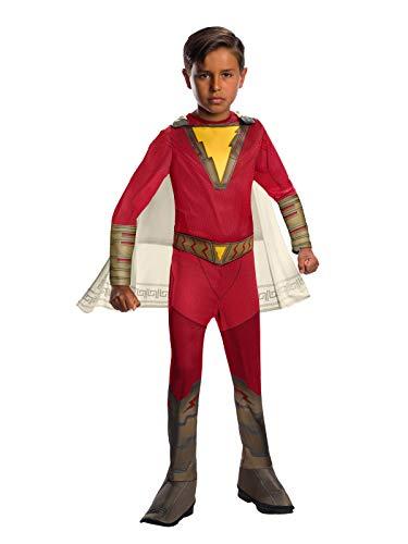 Rubie's Officieel Shazam-kostuum, DC Comics superhelden-kostuum voor kinderen, klassiek design Large Age 8-10 Years multicolor