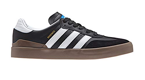 adidas Busenitz Vulc RX, Zapatillas de Skateboard Hombre, Negro (Cblack/Ftwwht/Gum5 Cblack/Ftwwht/Gum5), 37 1/3 EU