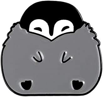 NoneBrand New Cartoon San Francisco Mall Brooch Hedgehog Penguin Sales of SALE items from new works Lap Dinosaur Cute