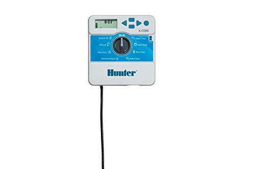 Hunter Sprinkler XC600i X-Core 6-Station Indoor Controller Timer 6 Zone,Black,Small