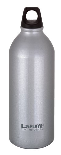 LaPlaya Thermoproducts Borraccia in alluminio 0,6 l, 8x7,5x20 cm, Argento, 8 x 7,5 x 20 cm