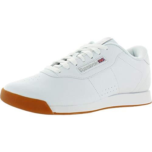 Reebok Women's Princess-Sneaker Walking Shoe, Value:White/Gum, 9