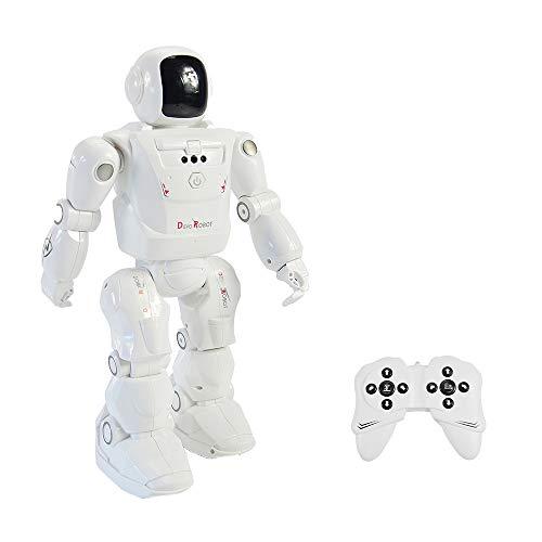 RC LEADING RC2108 Smart Dancing Mode Robot Motion Control Azioni programmabili Luce facciale Suona giocattolo RC Regalo per bambini