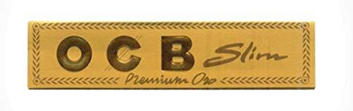Papier à rouler OCB Premium King Size Slim Or – 10 carnets par Trendz