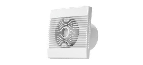 Cocina premium pared del baño de alto flujo campana extractora 100 mm con sensor de humedad