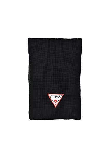 Guess gebreide sjaal AM8592WOL03 zwart