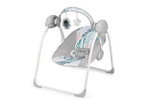 MOMI LISS Balancín Eléctrico para Bebé con Función de Ba