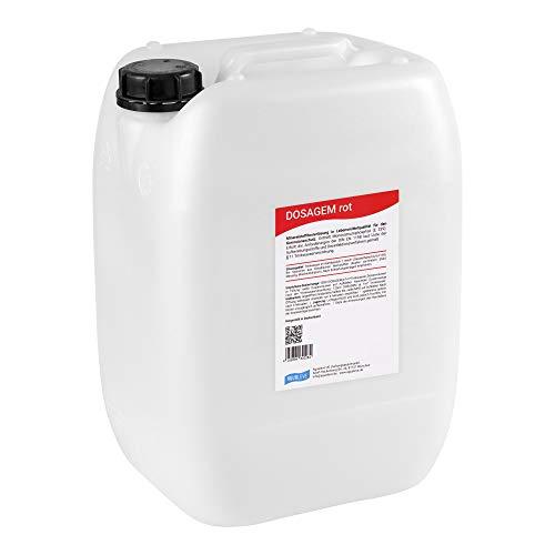 DOSAGEM rot Dosierlösung 20 Liter (Alternative zu Grünbeck EXADOS rot)
