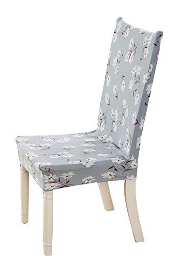 Emmala Stretchstof eetkamerstoel slipcovers tuinhyacint huis ornament mode party unicaat Simplicity stoel kruk beschermers