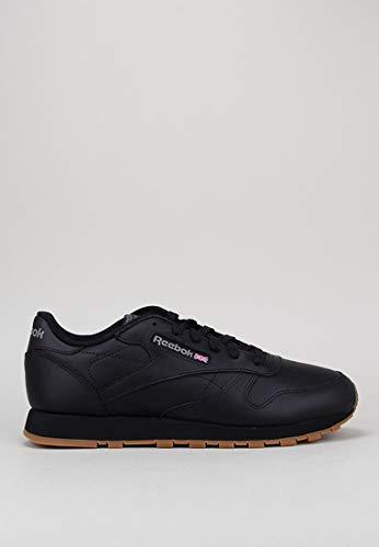 Reebok Schuhe Classic Leather Black-Gum (49804) 38,5 Schwarz