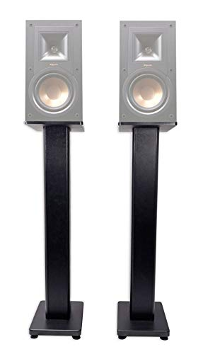 Pair 36' Bookshelf Speaker Stands for Klipsch R-15PM Bookshelf Speakers