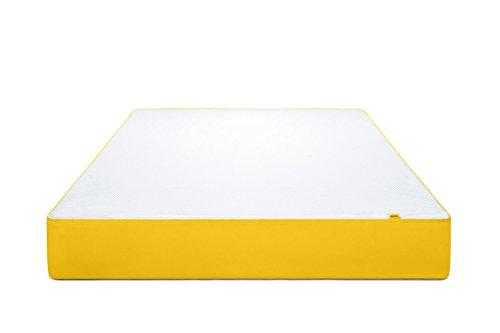 eve2 Premium 7-Zonen Schaummatratze, Härtegrad 2.5, 25 cm Höhe, Bezug waschbar, Made in Germany