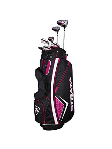Callaway Women's Strata Complete Golf Set (11-Piece, Left Hand, Graphite) -  Callaway Golf, 4PKL190611007