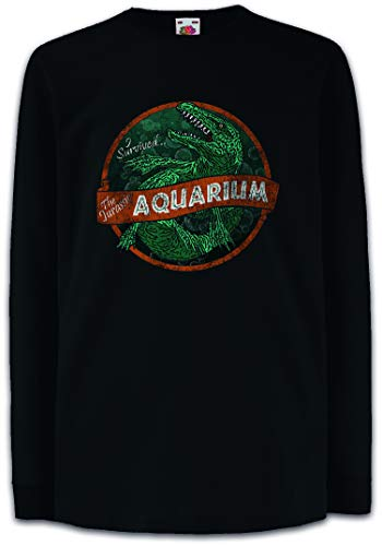 Urban Backwoods Survived Aquarium Kinder Kids T-Shirt Met Lange Mouwen