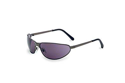 Honeywell Home Gray Safety Glasses, Scratch-Resistant, Wraparound, Gun Metal (S2451)