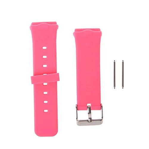 MAZE MA Smart Locator Tracker Armbanduhr Ersatzband für Kinder Armband für Q50 Y3 rose