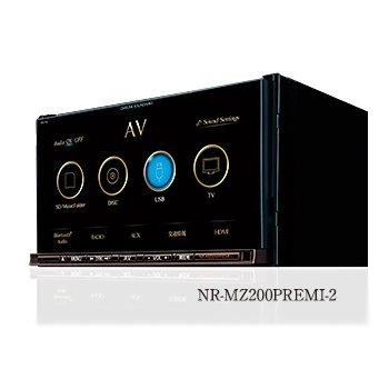 三菱電機 NR-MZ200PREMI-2 フルセグ7V型WVGAメモリーカーナビ