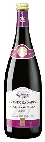 Mazedonischer Kadarka Rotwein lieblich 1 l