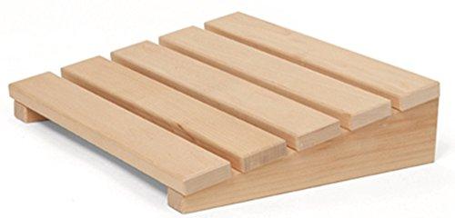 Preisvergleich Produktbild Sauna-Kopfstütze Klassik aus Birkenholz