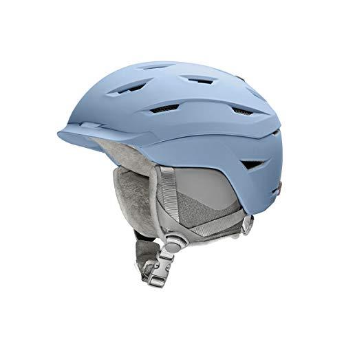 Smith Optics Liberty Snow Helmet (Matte Smokey Blue, Large 59-63cm)