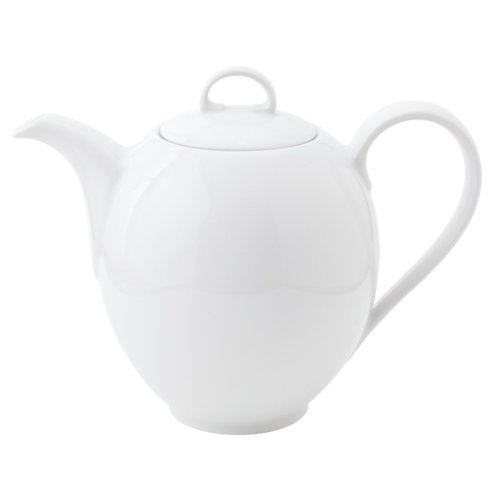Kahla Aronda Kaffeekanne, Kanne, Krug, 1,3 l, Porzellan, Weiß, 051105A90005B