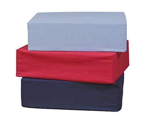 Aufstehhilfe-Kissen - Unterstützt und erhöht, hergestellt aus Schaum mit hoher Dichte.