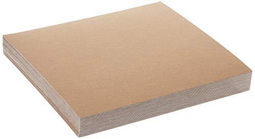 Grafix Tableros aglomerado, Peso Medio, 30,5 x 30,5 cm, Color Blanco, 25Unidades, Blanco, 30,5 x 30,5 cm