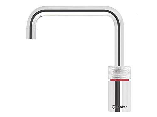 Quooker PRO3-VAQ B Nordic Square Kochendwasserhahn / Kochendwasser-Armatur / verchromt glänzend (CHR)