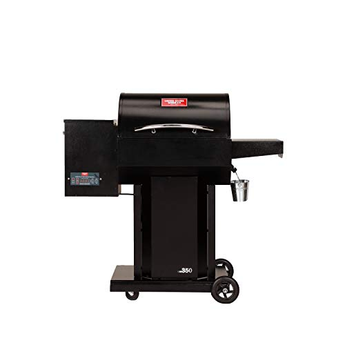 The Hooch USG350 Wood Pellet Grill and Smoker with FREE 10.25 In. Cast Iron Skillet
