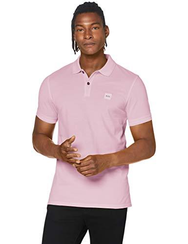 BOSS Herren Prime Polo Shirt, Dark Pink (652), Large