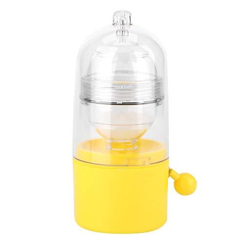 Golden Egg Scrambler Shaker Batidor Powered Hand Golden Egg Maker Huevos Yema Yema de extracción manual Tirador de huevo Mezclador blanco Gadgets de cocina