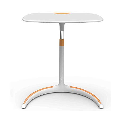 KXDLR Verstelbare Hoogte Sofa Bed Side End Tafel, Over Bed Tafel, C Vormige Tafel Laptop Houder, End Stand Bureau Koffie dienblad Zijtafel 61.2X 44.5X63.5CM