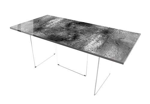 Queence Design-Tisch/Schreibtisch/hochwertige Tischplatte/Esstisch/Arbeitstisch/Bürotisch/DIY/in Zwei Größen erhältlich/ab 149 Euro,...