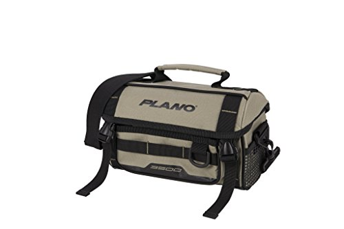 Plano PLAB35121 Weekend Series 3500 Size Softsider Tackle Bag, Tan, Premium Tackle Storage