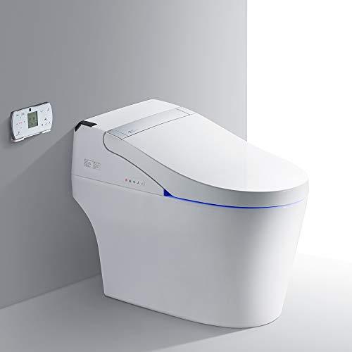 Woodbridge B0960S Smart Bidet Toilet, Integrated Dual Flush, Remote Control