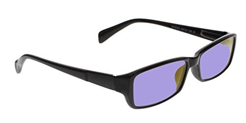 Sodium Flare Polycarbonate Glassworking Safety Glasses - Ergonomic Plastic Frame - 53-16-140mm