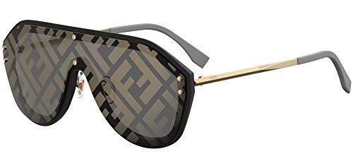 FENDI FF M0039/G/S 7Y Gafas, BLACK GOLD/GY GREY, 99 Hombres