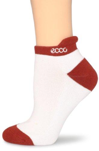 ECCO Women's Golf Notch Socks, Terracotta, 9-11