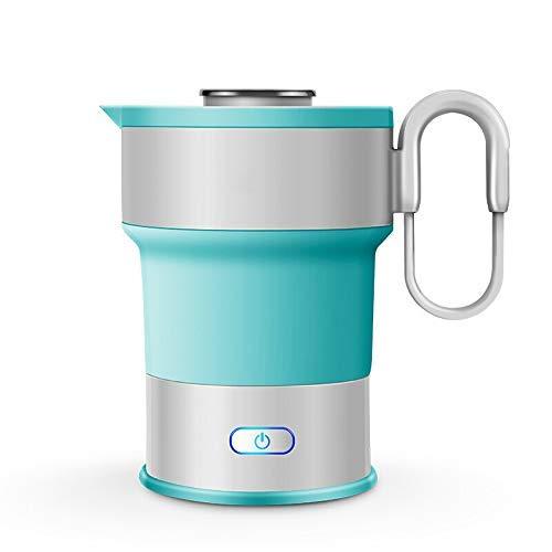 8bayfa Elektrische Faltbarer Kessel 0.6L Silica Gel Faltbare Wasserkocher Power Off automatisch Anti-heiße Mini Electric Teekanne Haushalt Küchengeräte